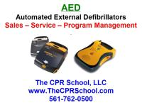 Florida AED Sales, Service and Training